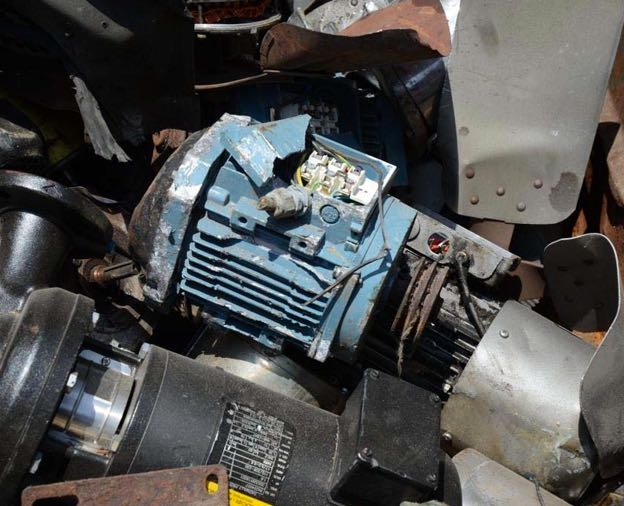 Electric Motor Breakage 225