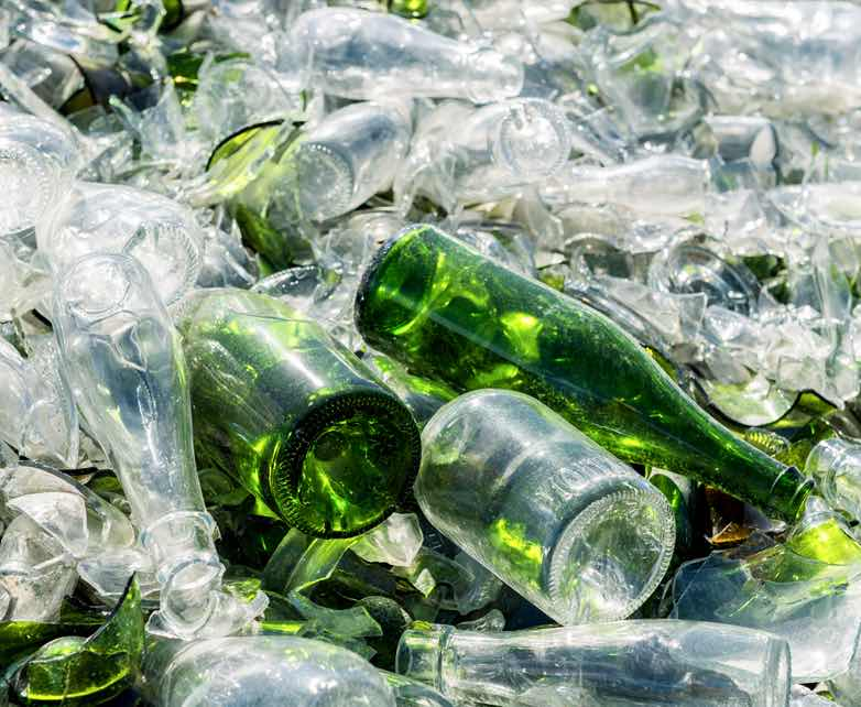 Glass Recyclables