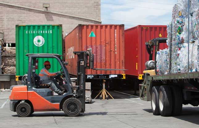 Allan Company Forklift