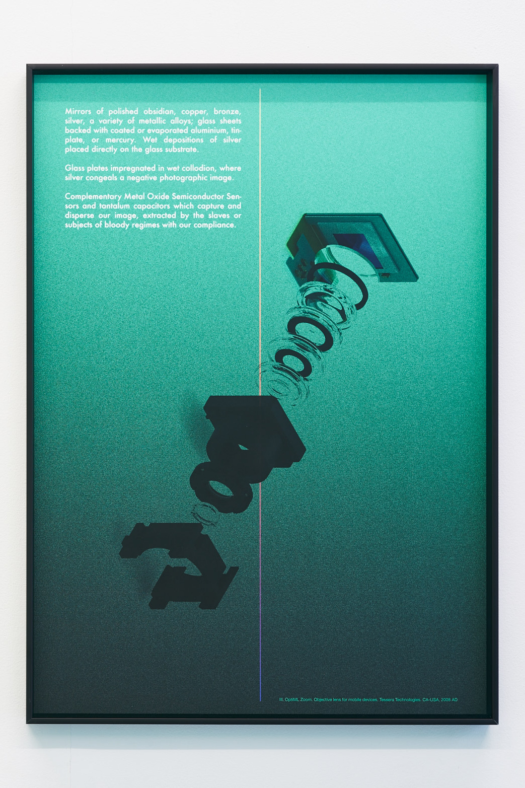 David Ferrando Giraut, Notes for a Genealogy of the Mineral Image, 2015. Digital prints on Hahnemuhle cotton paper, 50X70 cm each.