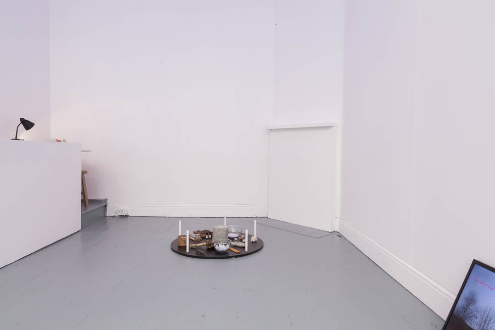 Diana Policarpo, Sonic Cleansing Ritual, 2017, installation and live performance