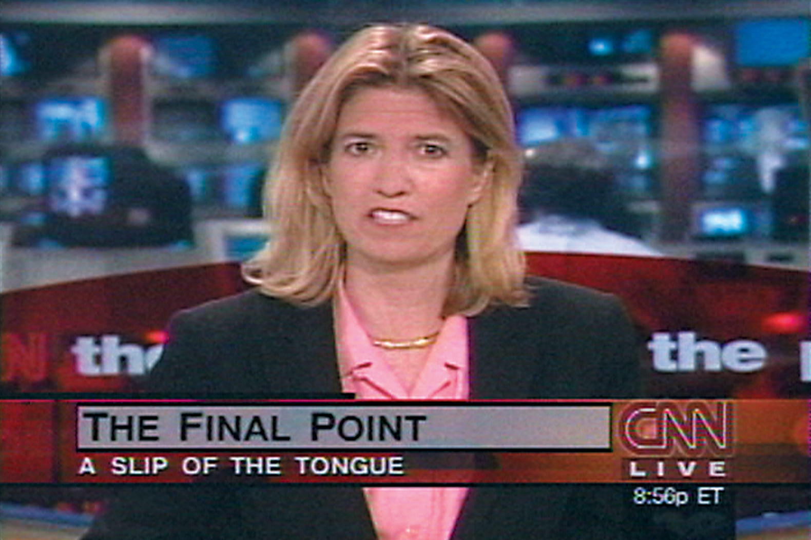 Omer Fast, CNN Concatenated, 2002, video still.