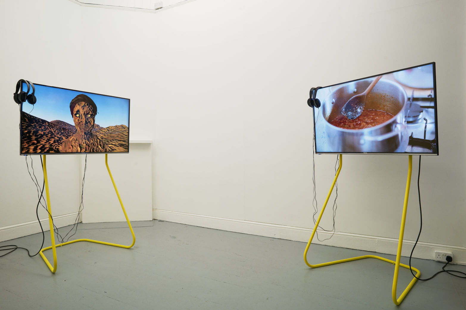 Rehana Zaman, Tell me the story Of all these things, 2016. Installation view, Tenderpixel.