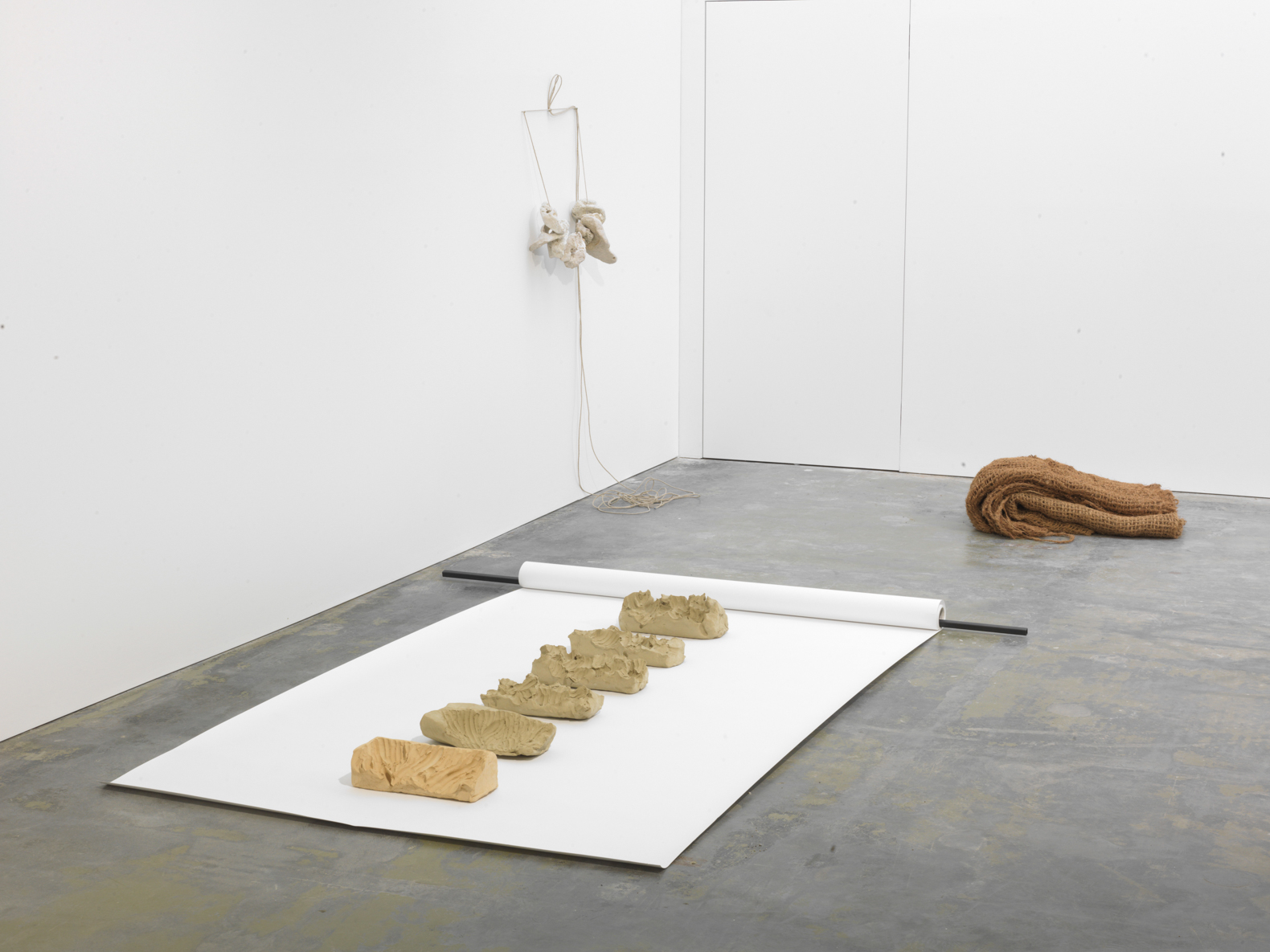 Object and Environment, installation view, Galerie Guido W. Baudach, Berlin, 2014