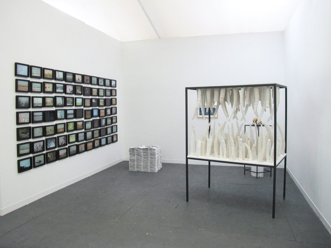 Frieze, London, Frame Section with amt_Bratislava, 2013