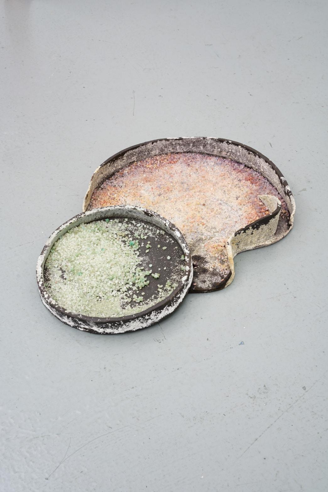 Paloma Proudfoot, Le Male, 2017, Stoneware, bath salts