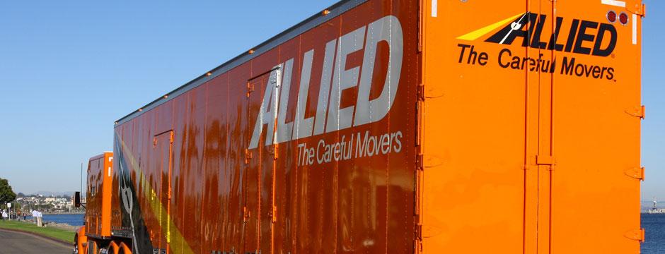 Allied Van Lines moving truck