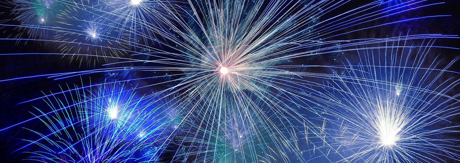 don't pack fireworks