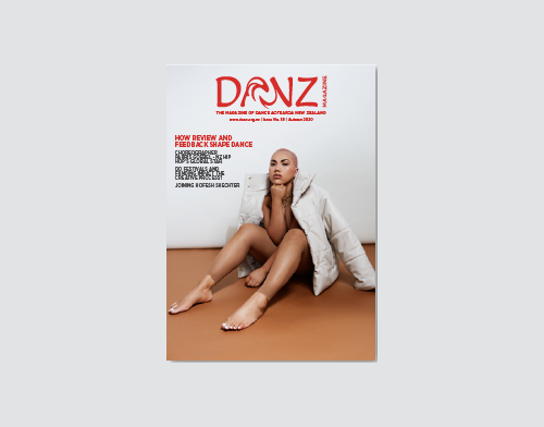Dance Aotearoa New Zealand magazine
