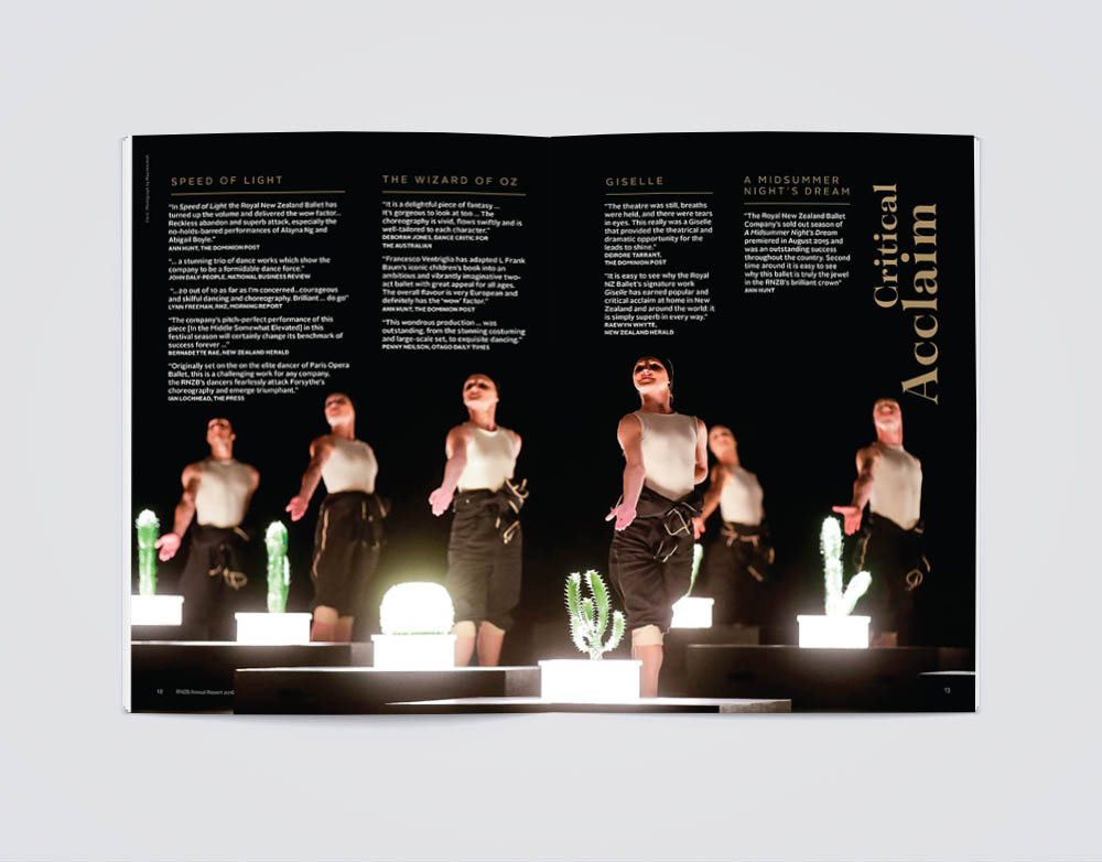 Royal New Zealand Ballet annual report