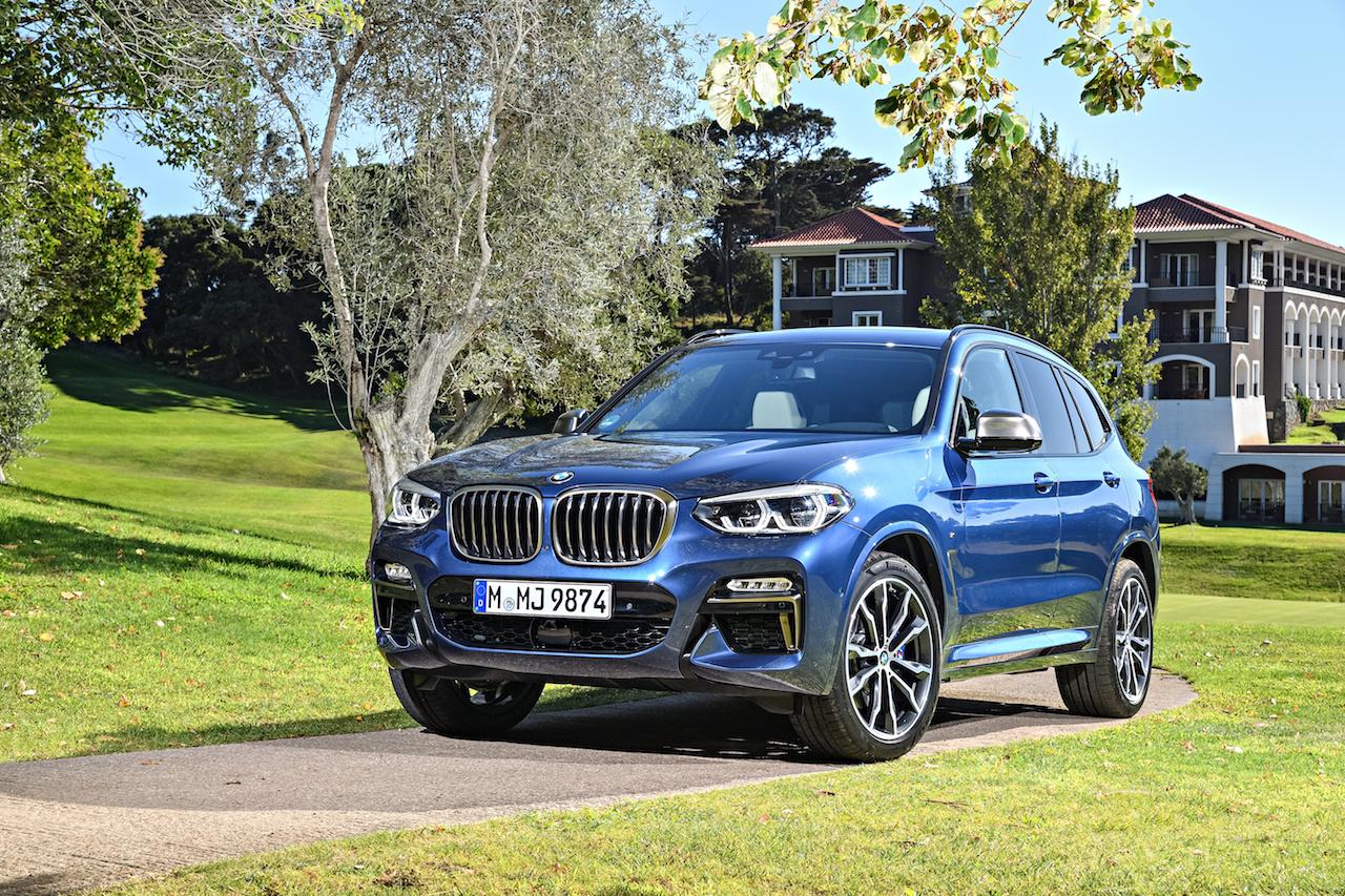 Nýr og breyttur BMW X3 kynntur laugardaginn 13. janúar