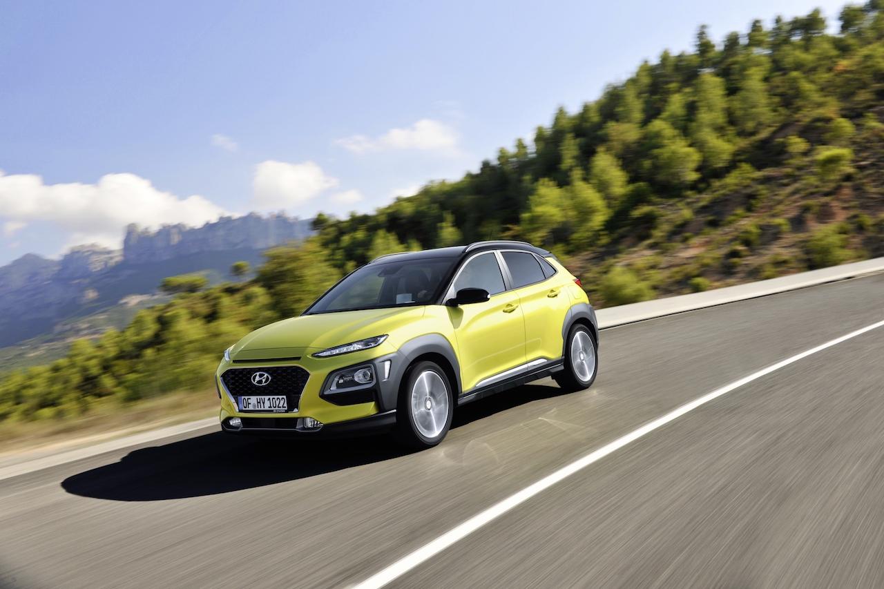 Hyundai kynnir borgarsportjeppann KONA á laugardag