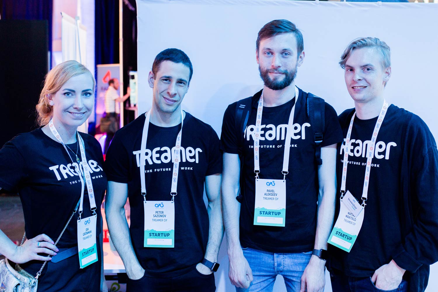 Treamer's team at Artic15