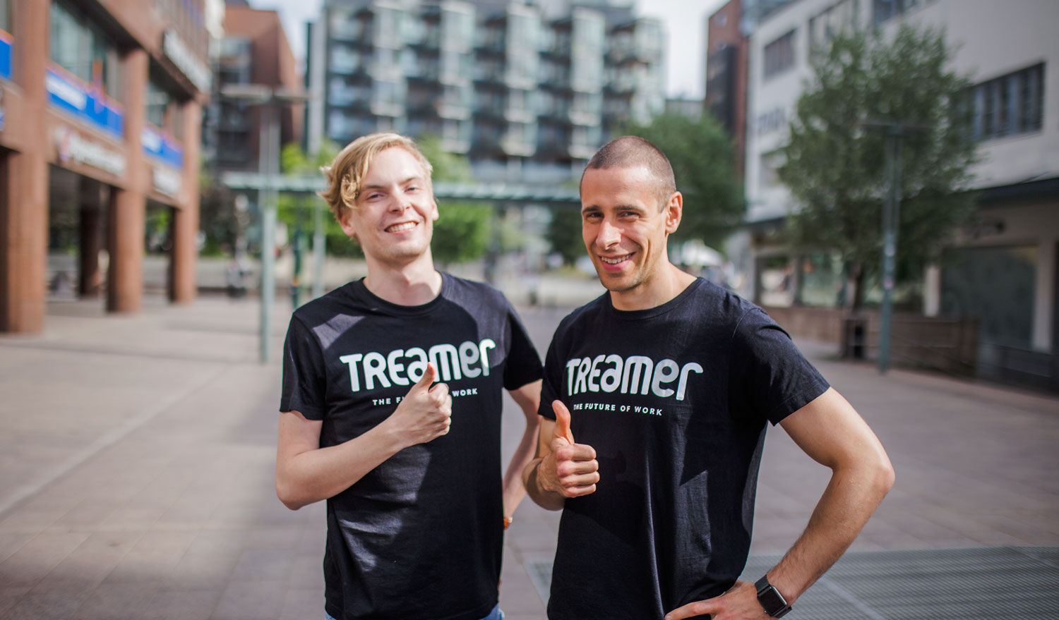 Treamer Co-Founders Peter Sazonov and Matias Mäkitalo