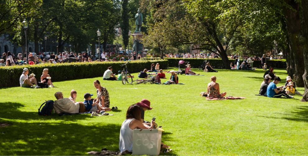 Helsingin Esplanadin puisto