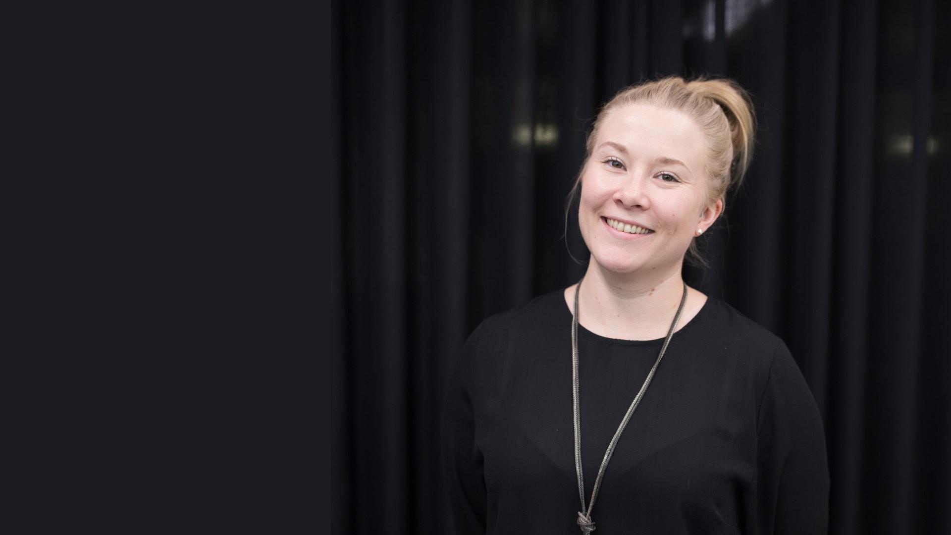Eveliina Miettinen, digitaalisen henkilöstövuokrauspalvelun myyntijohtaja