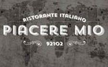 Logo Piacere Mio best Italian Restaurant San DIego South Park