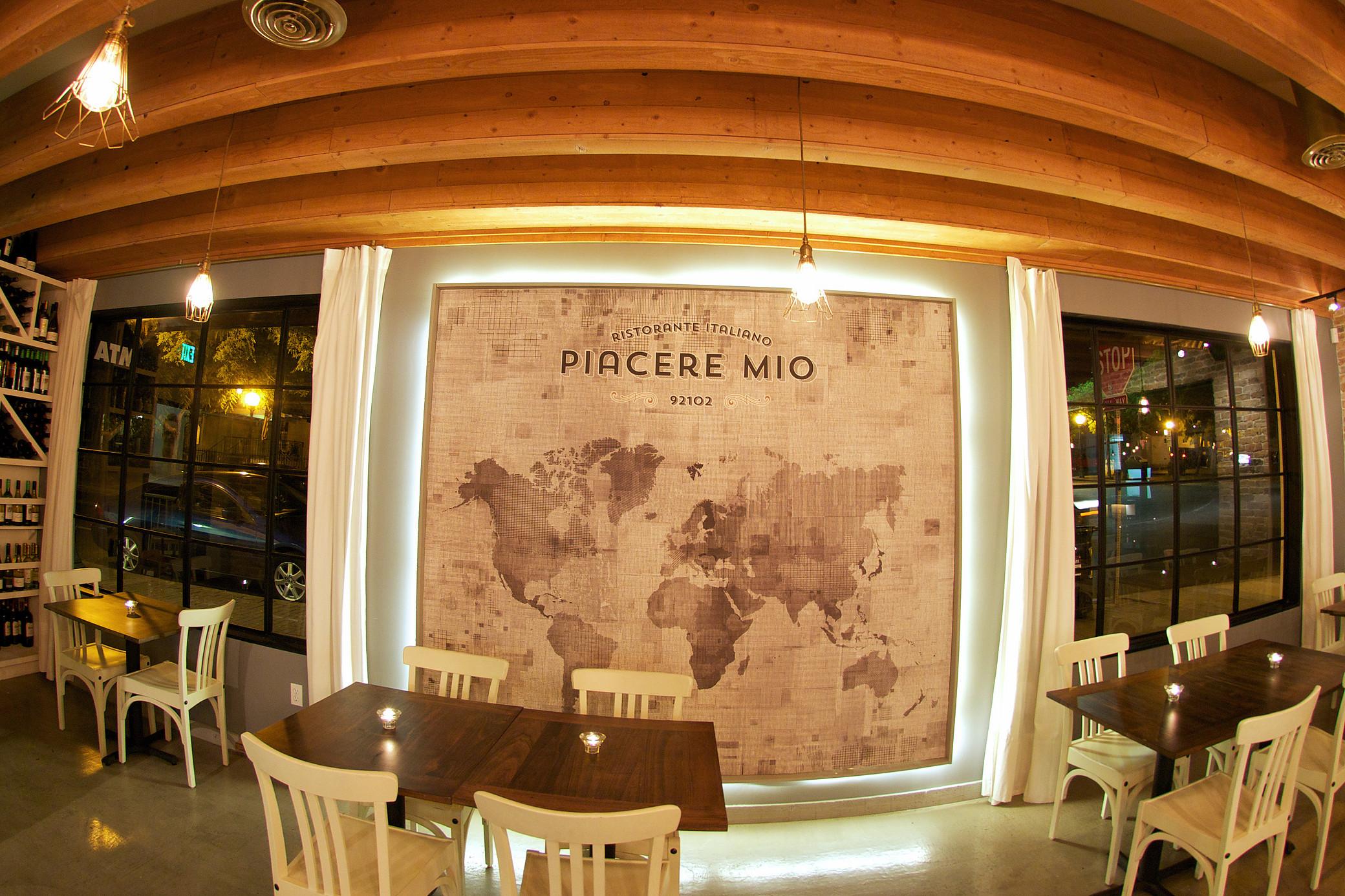 Inside PIacere Mio South Park  Italian Restaurant