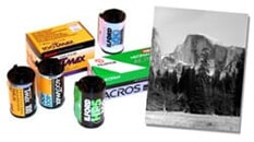 black and white film developing
