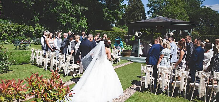 Wedding Pavilion, Derbyshire
