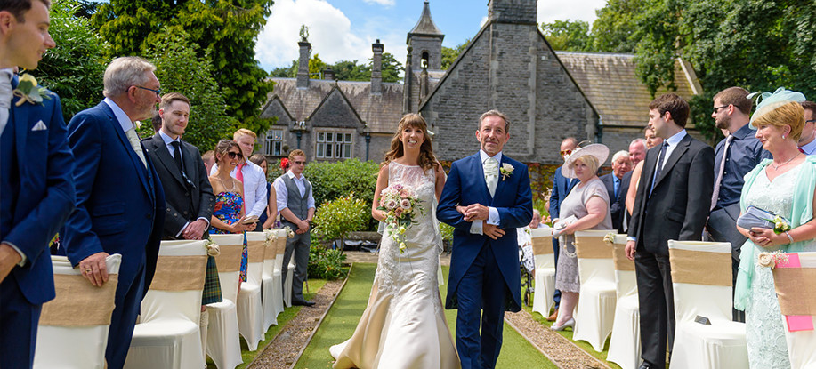 Bespoke Weddings at Derbyshire Wedding Venue