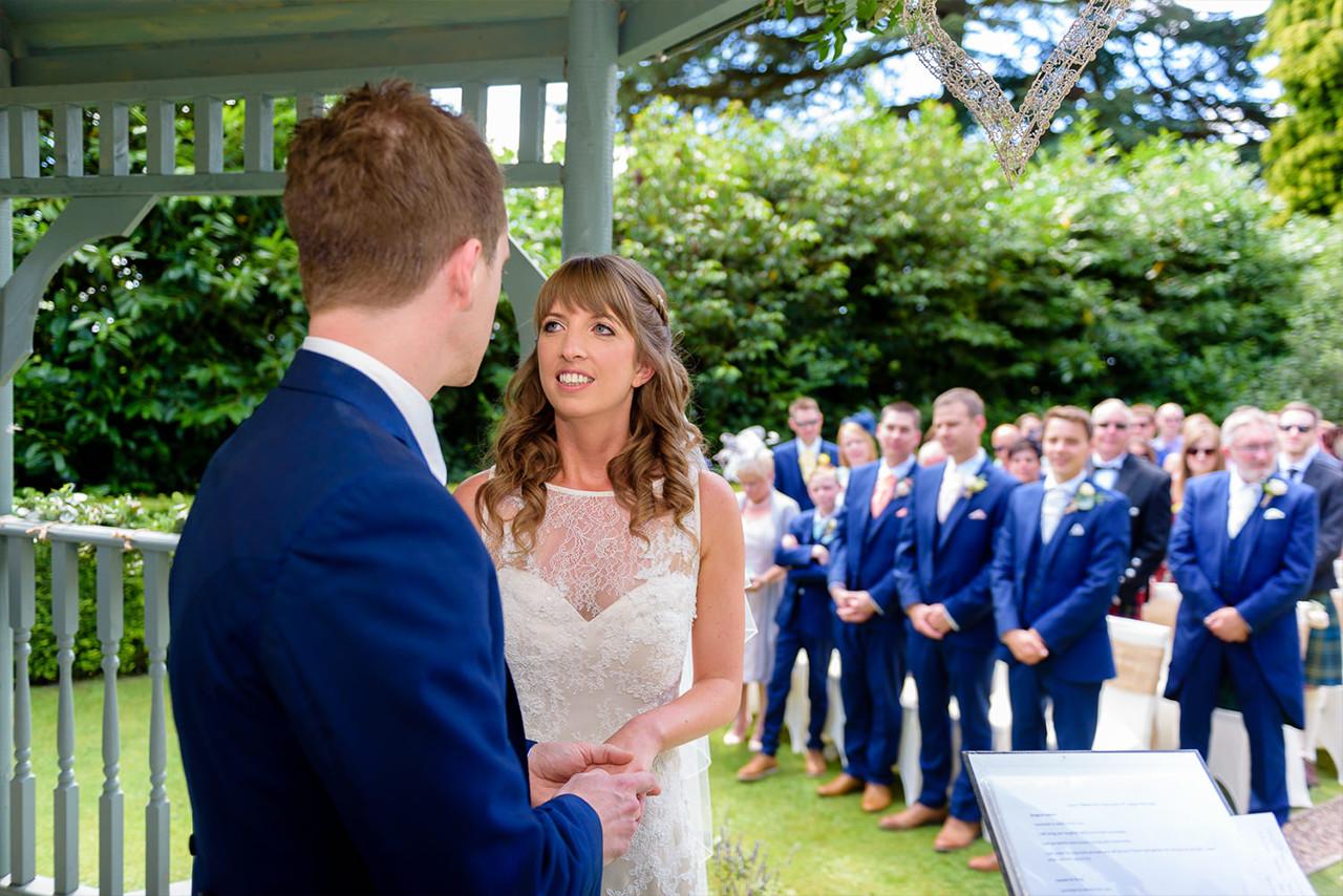 Daytime Wedding at Callow Hall, Derbyshire
