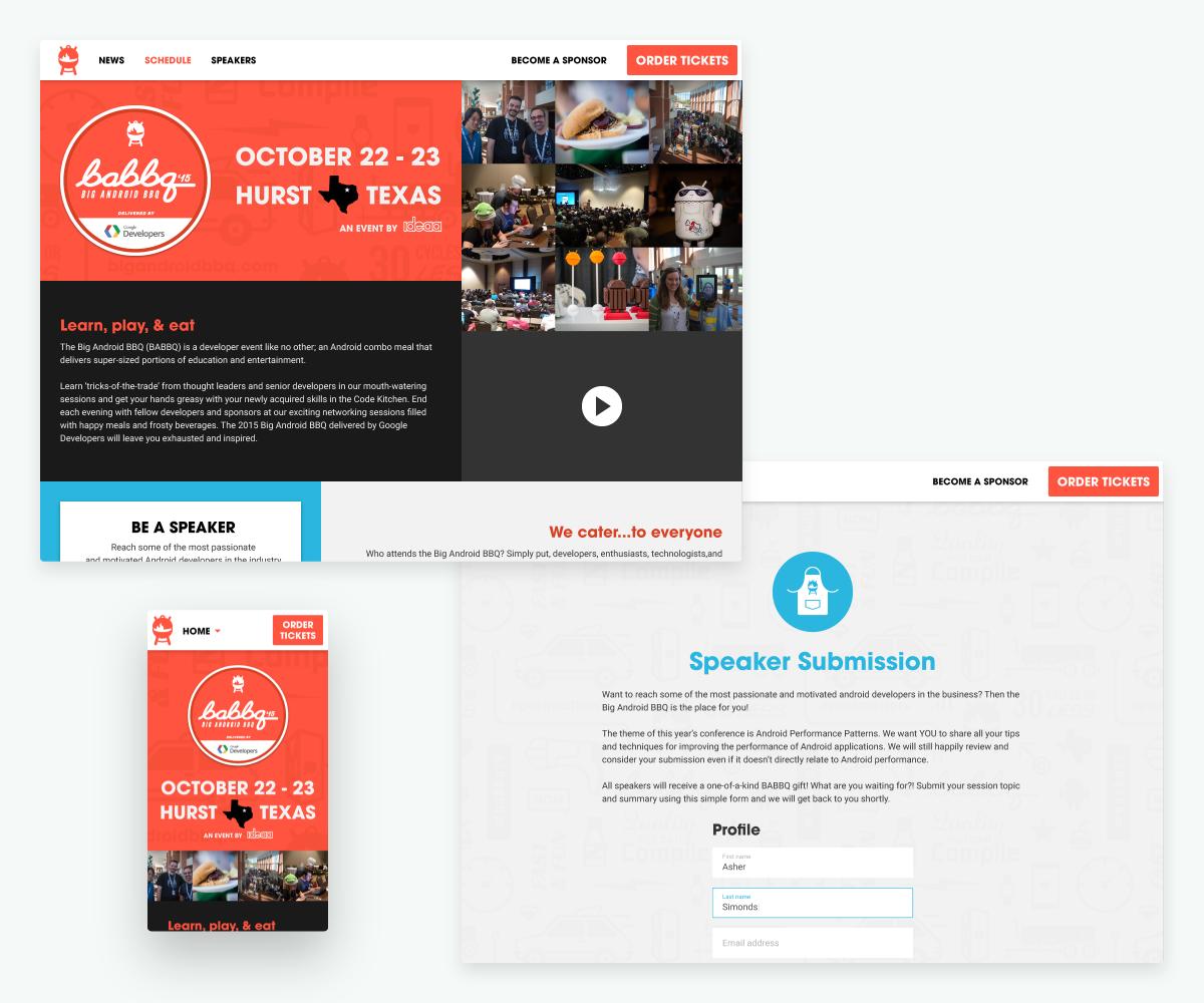BABBQ website examples
