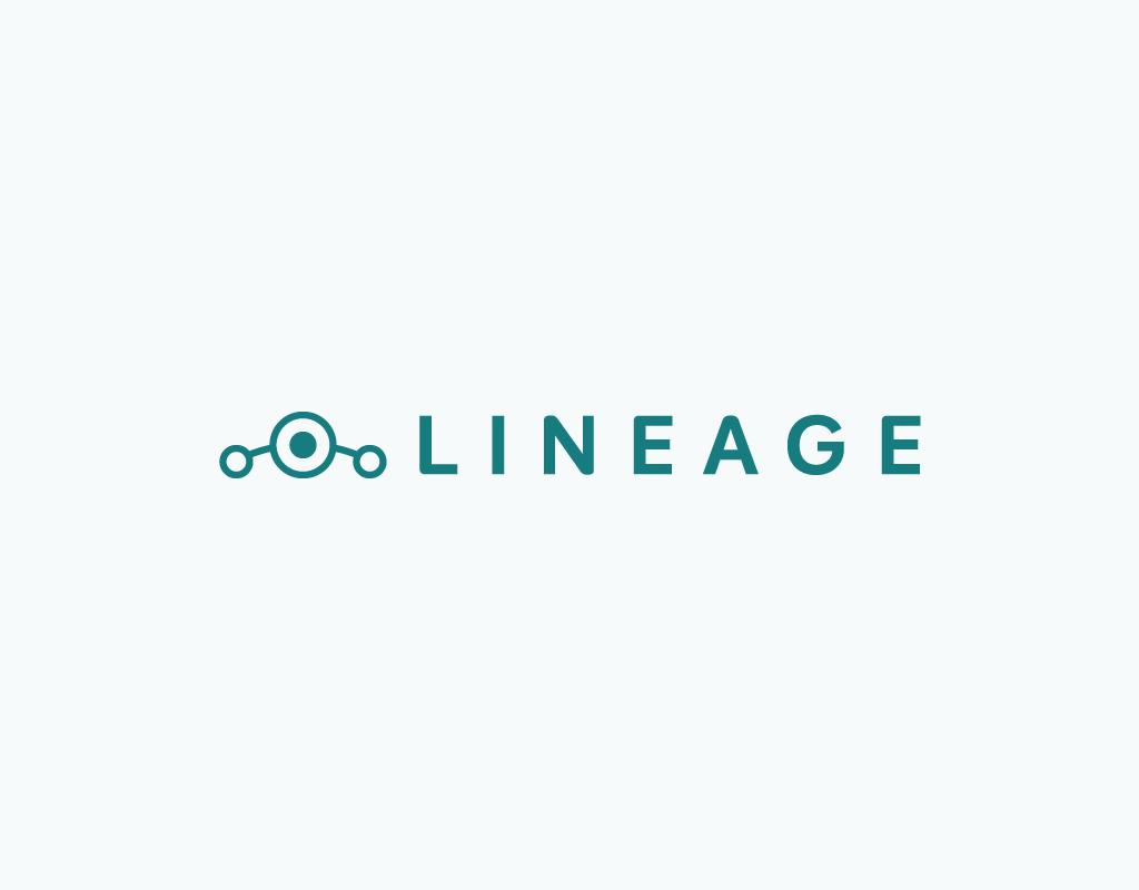 Lineage logo in horizontal lockup