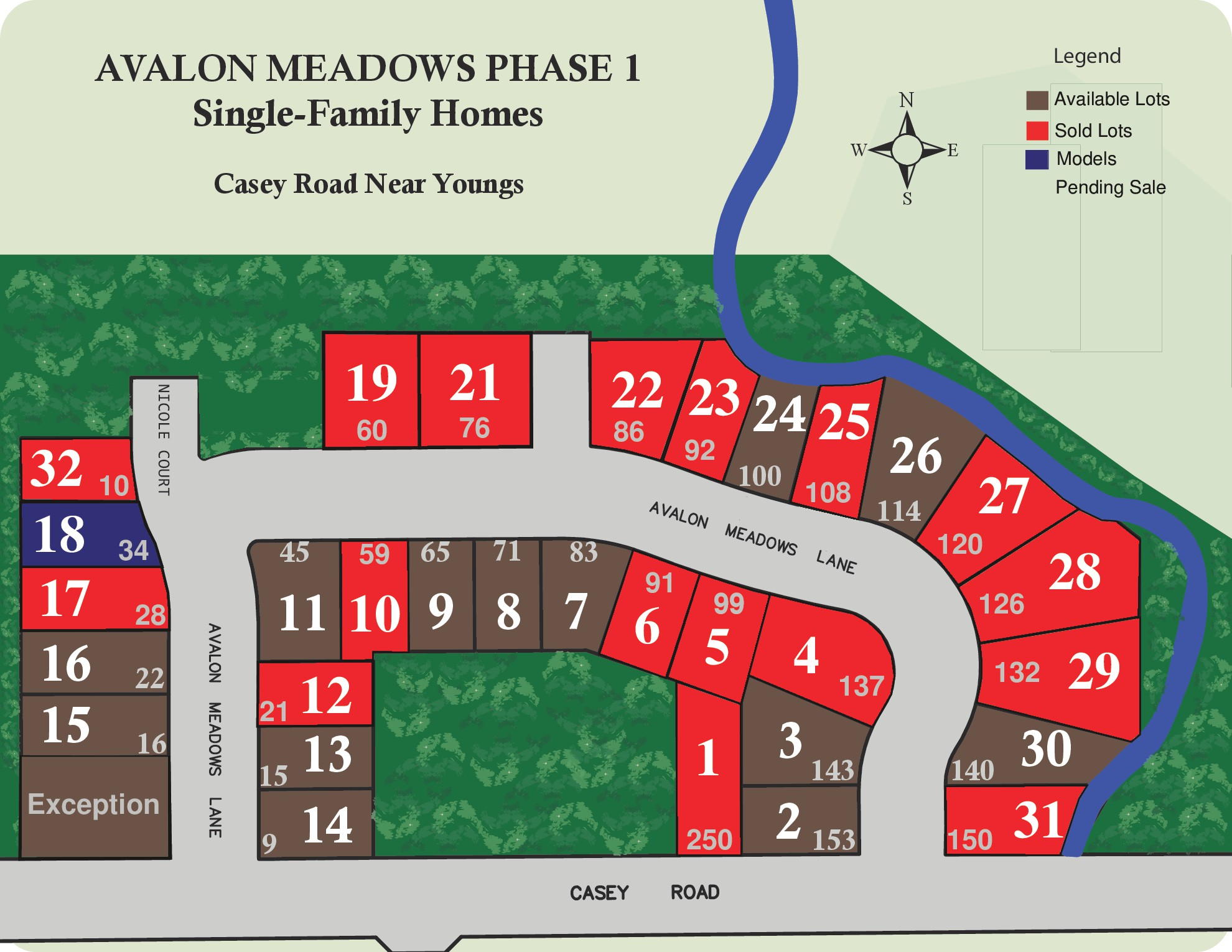 avalon meadows phase 1 map