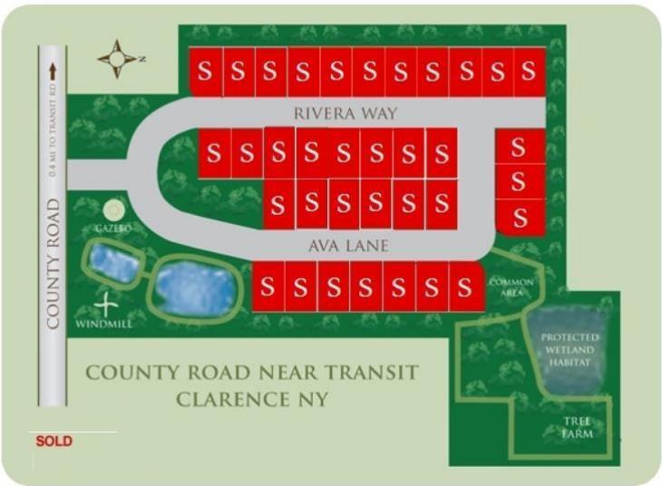 Rivera greens map