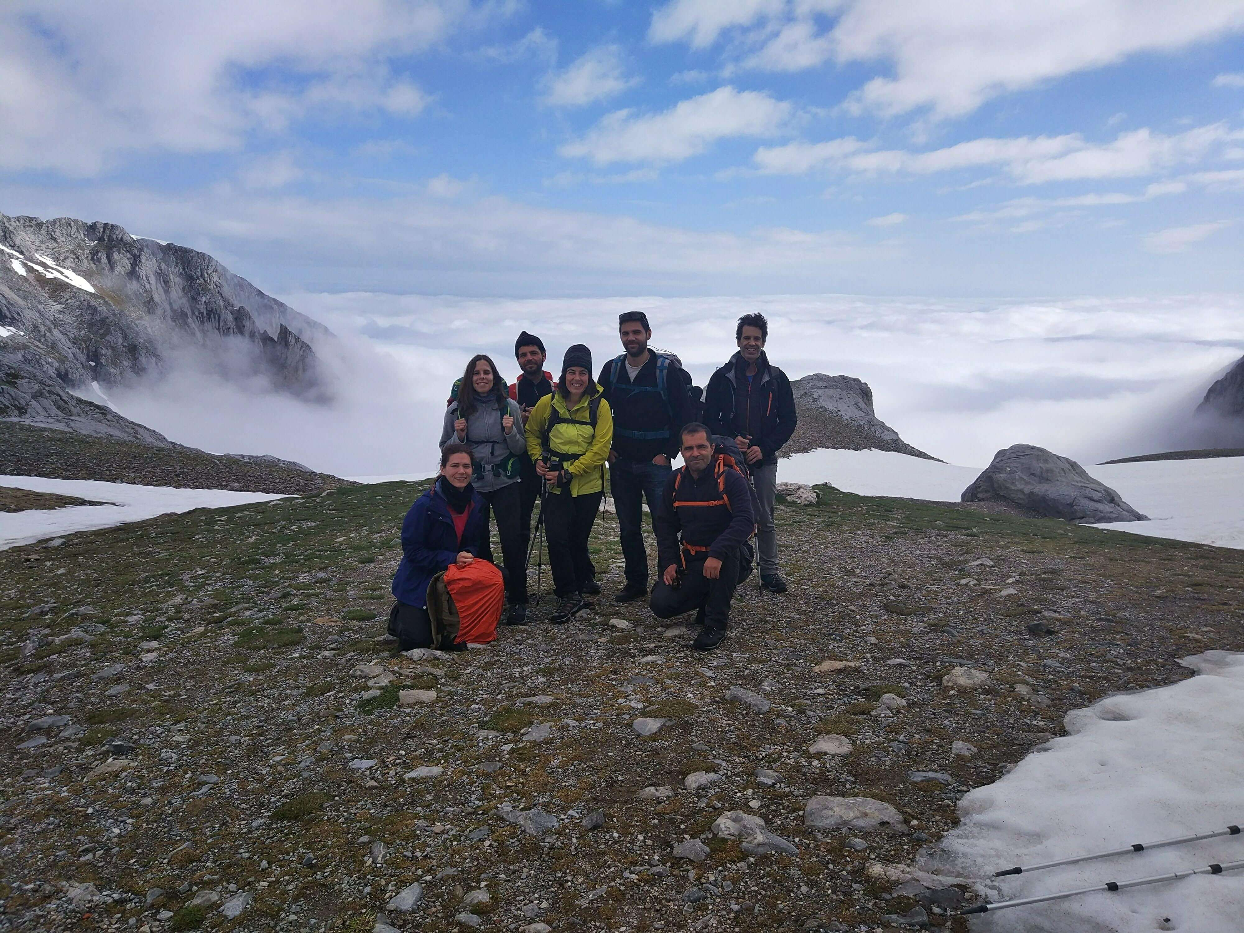 Photo with friends (Picos, Europe)