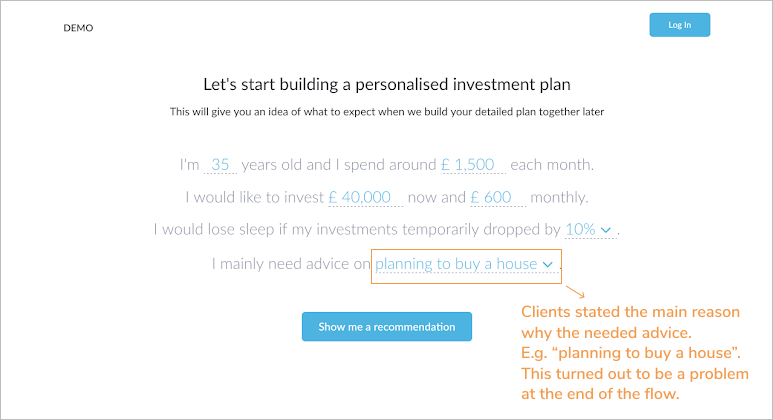 Advicefront onboarding screen1