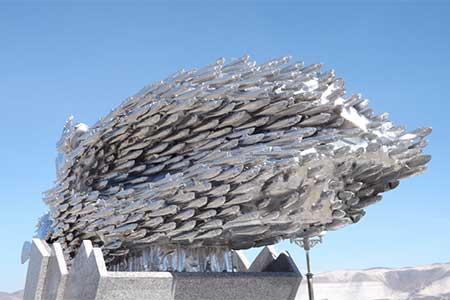 Памятник хамсе открыли на Кубани