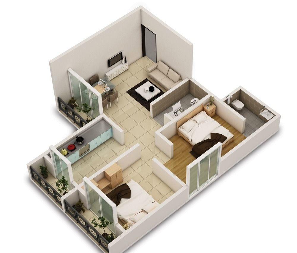 Как с 2 комнатной квартиры сделать 3 комнатную фото