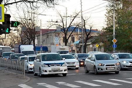 С 7 апреля будет изменено дорожное движение в районе ул. 40 лет Победы