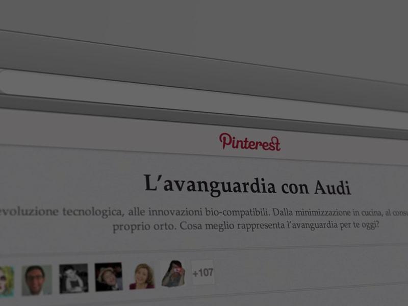 Verso l'avanguardia della tecnica – Audi su Pinterest