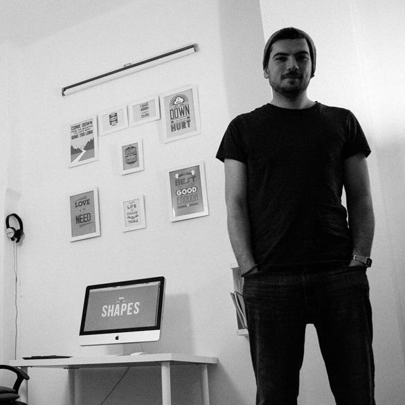 Web Designer, Aleksandar Dobrohotov