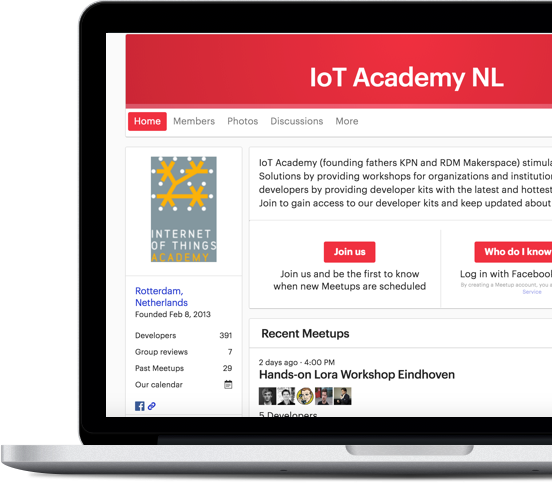 IoT Academy Meetup