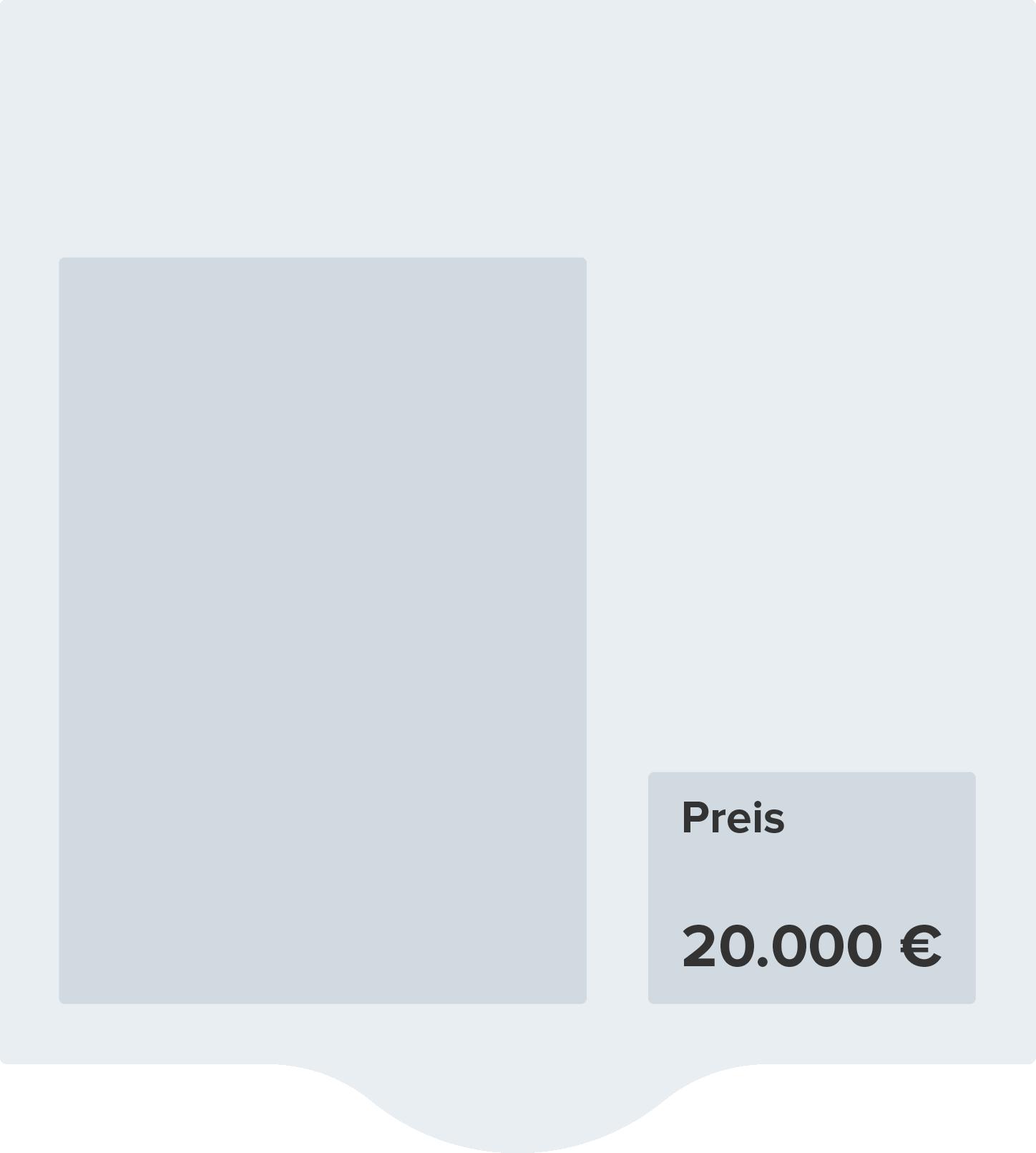 Elektronisches Preisschild vor Preisänderung