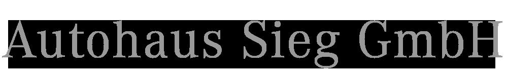 Referenz Autohaus Sieg GmbH