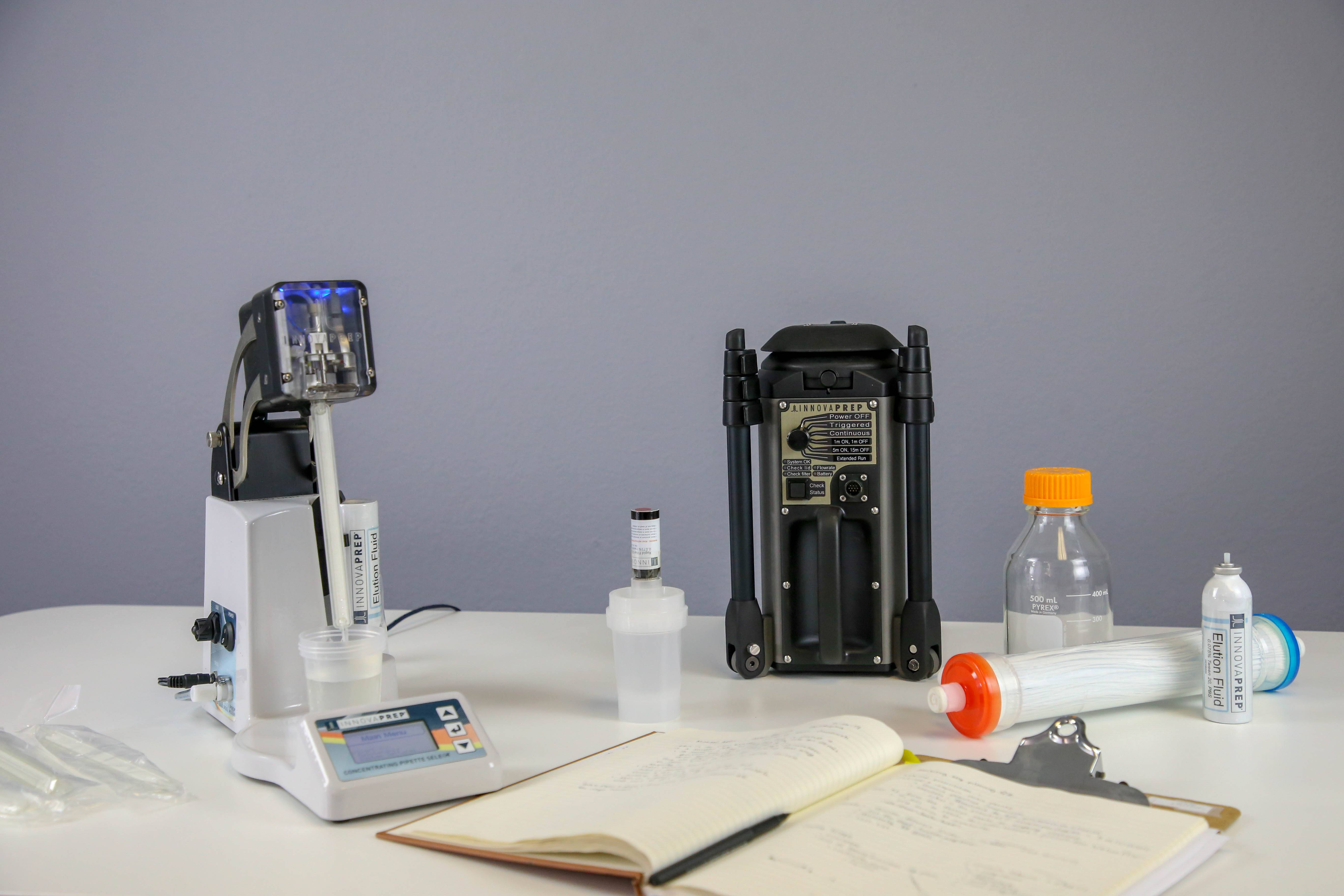 Bobcat, ACD200, ACD210, ACD220, ACD210Cub, ACD220Cub, ACD200Bobcat, Air Sampler, Air Collector, Air Concentration, LVC Kit, Large Volume Concentration, CP Select, CP150, Rapid Concentration, Rapid Liquid Sampler, Preanalytical Tool for Microbiology, Wet Foam Elution, Novel Elution Process, Patented Wet Foam Elution, Rapid Detection with Wet Foam Elution