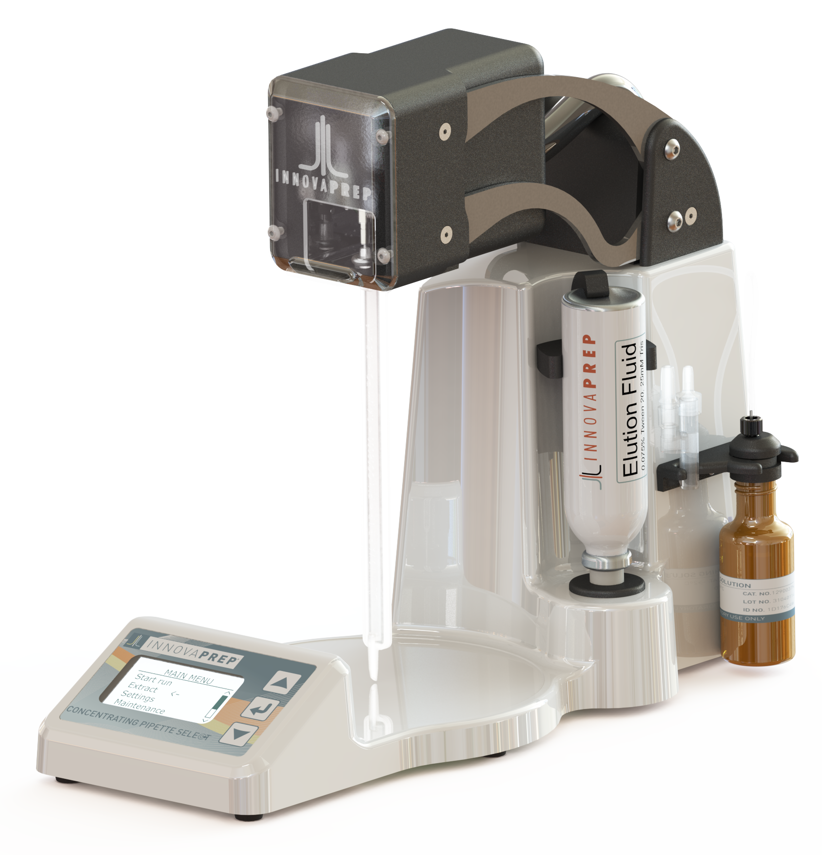 CP Select, CP150, Rapid Concentration, Rapid Liquid Sampler, Preanalytical Tool for Microbiology, Wet Foam Elution, Novel Elution Process, Patented Wet Foam Elution, Rapid Detection with Wet Foam Elution