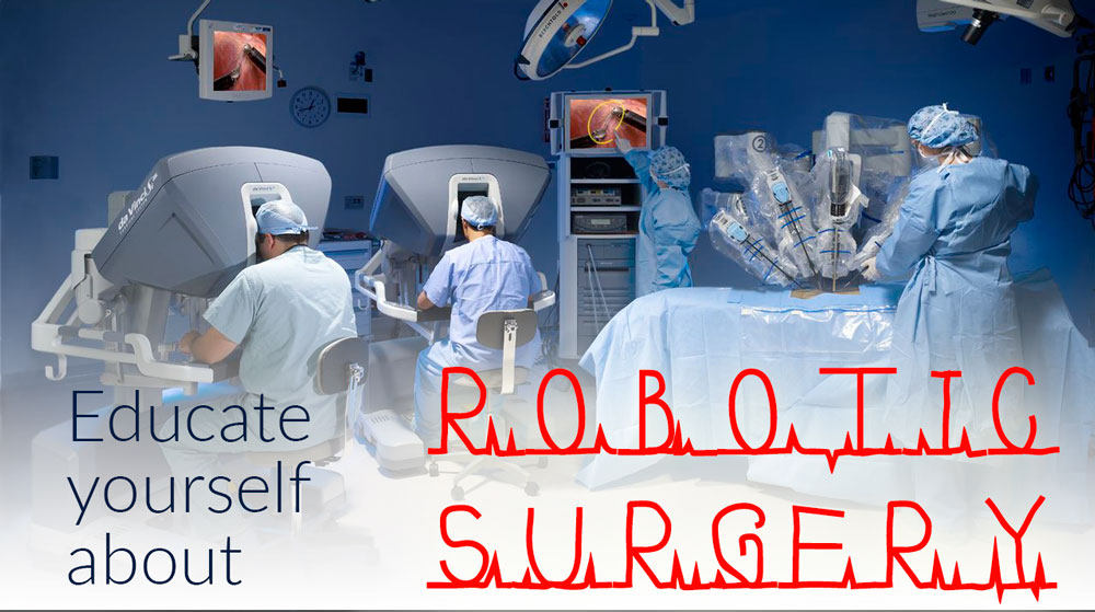 educate yourself about robotic surgery