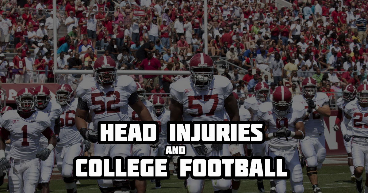 head injuries and college football