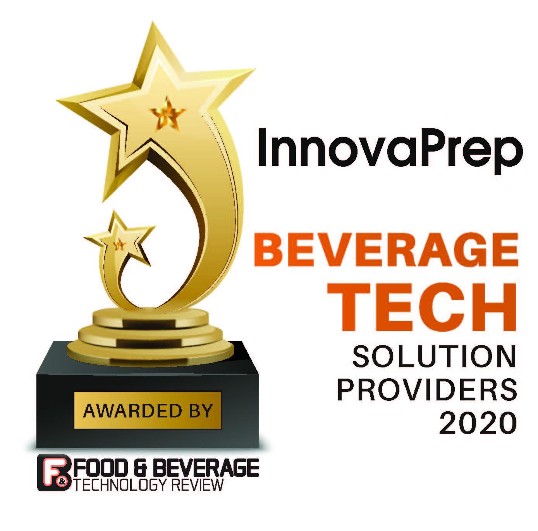 InnovaPrep Bevrage Tech Award 2020