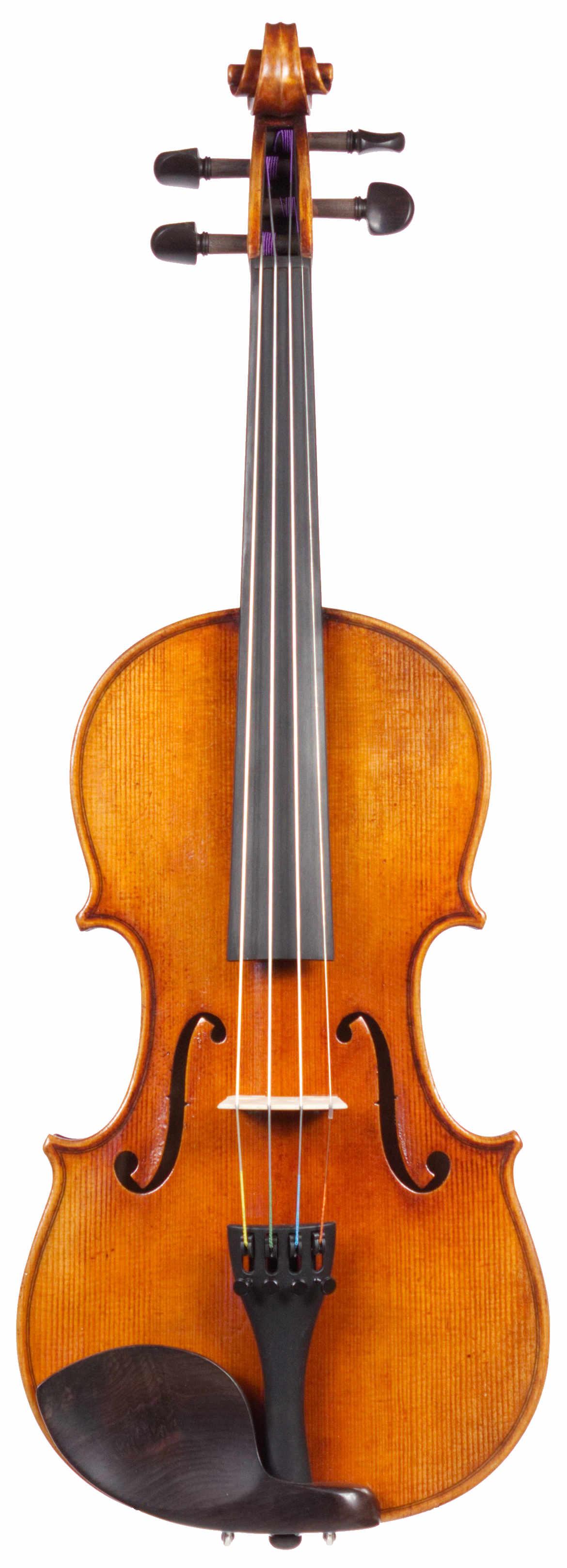 Strad model violin