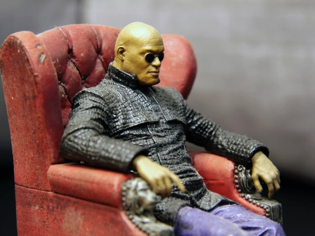 morpheus from the matrix