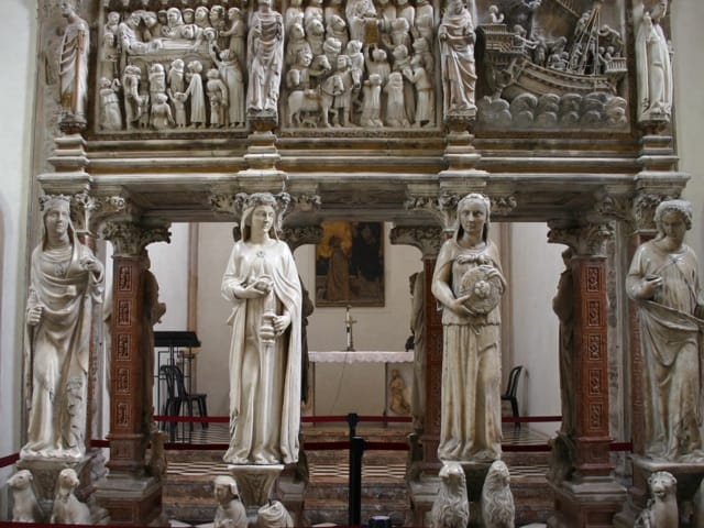 statue of virtues