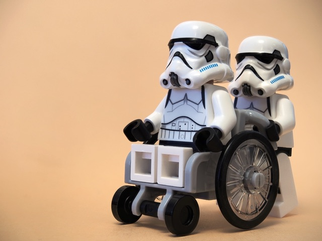 disabled stormtrooper
