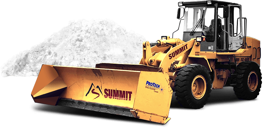 Summit commercial snow removal truck